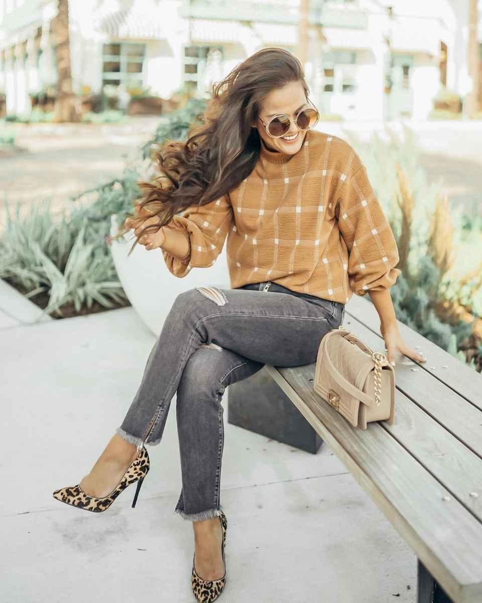 С чем носить леопардовые туфли и балетки фото_14