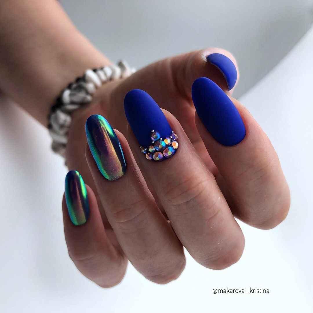 идеи зимнего дизайна ногтей 2020 фото_4