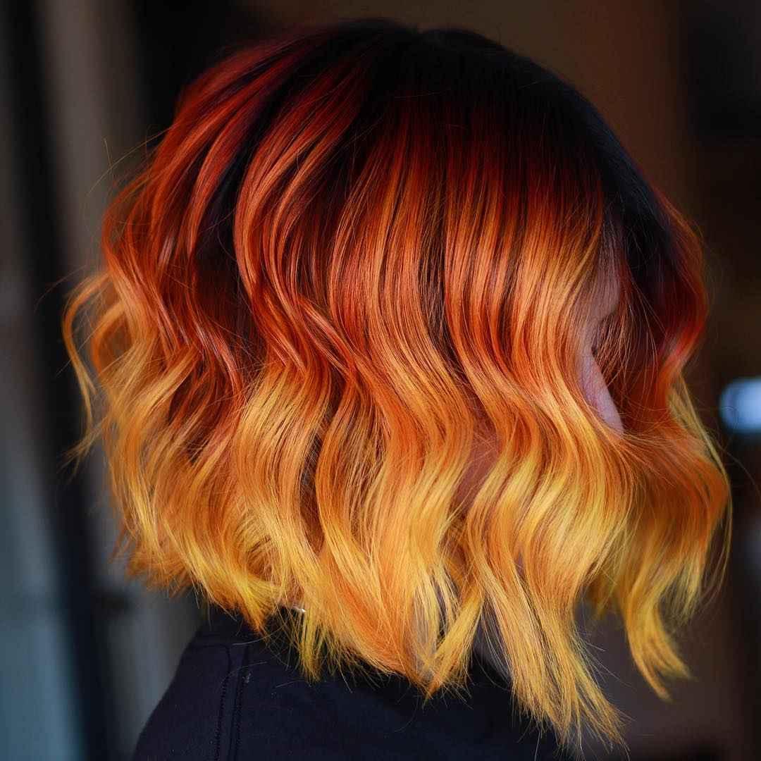 Модные цвета волос зимы 2020 фото_18