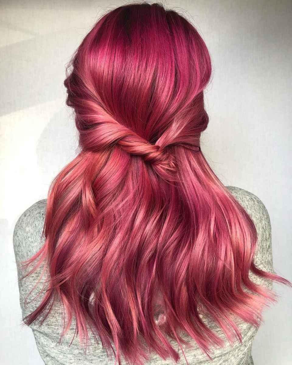 Модные цвета волос зимы 2020 фото_10