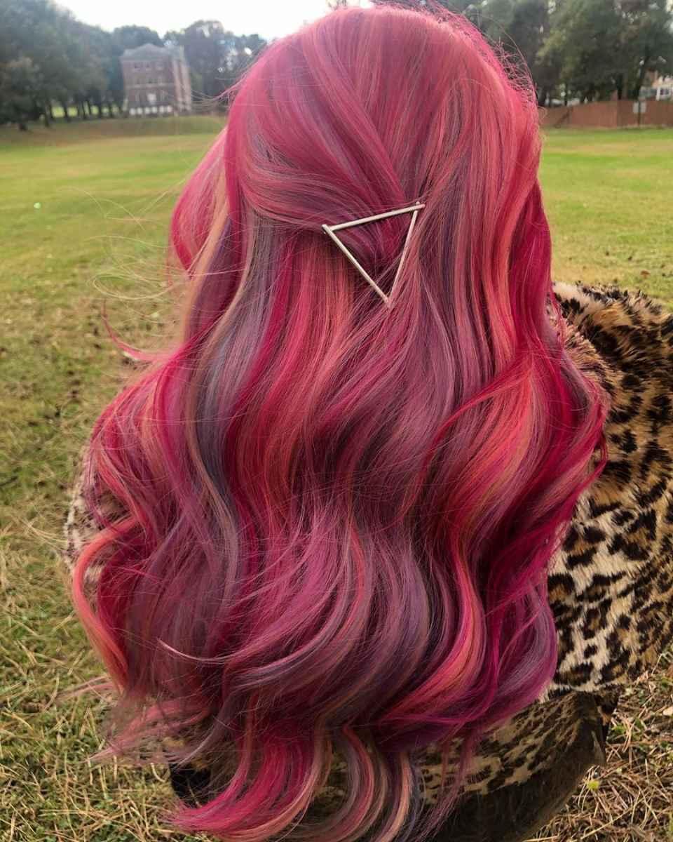 Модные цвета волос зимы 2020 фото_11