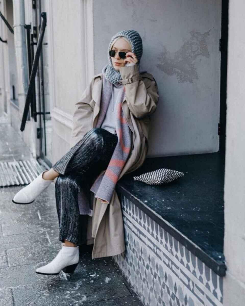 как носить шарф зимой фото_4