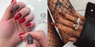 идеи зимнего дизайна ногтей 2020 фото
