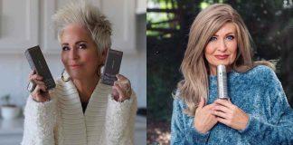 Модные окрашивания волос для женщин 60 лет фото идеи