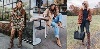 С чем носить леопардовую обувь фото идеи