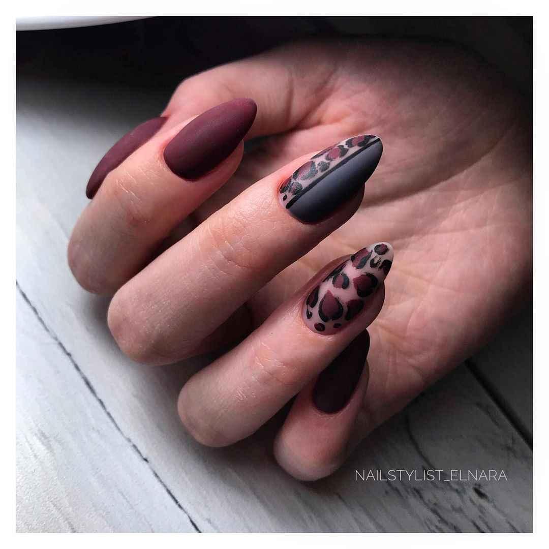 идеи зимнего дизайна ногтей 2020 фото_2