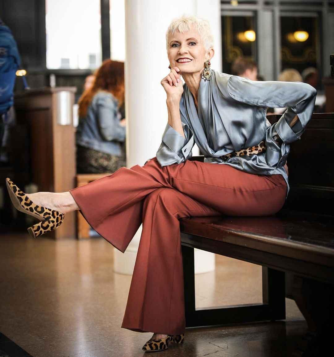С чем носить леопардовые туфли и балетки фото_11