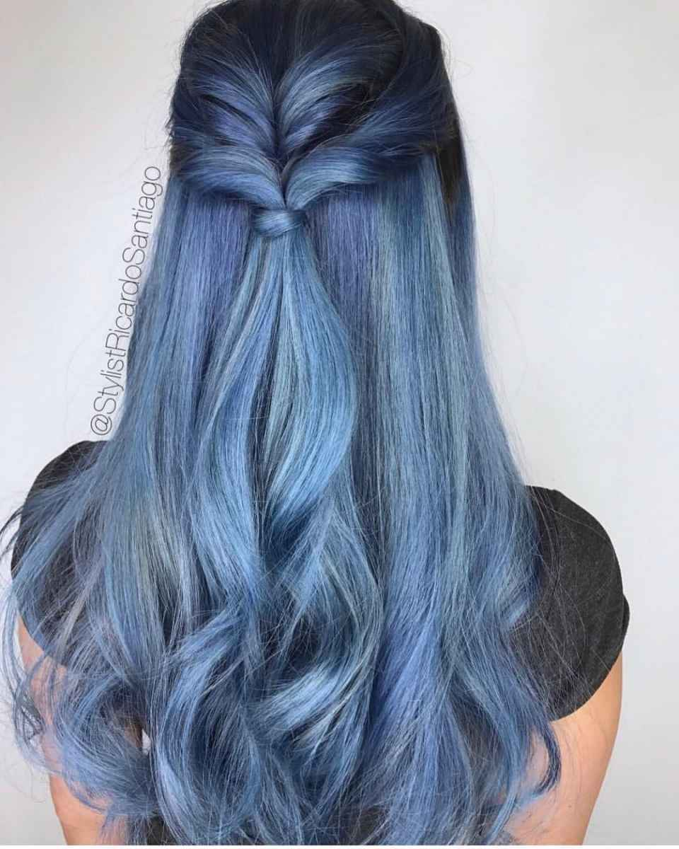 Модные цвета волос зимы 2020 фото_2
