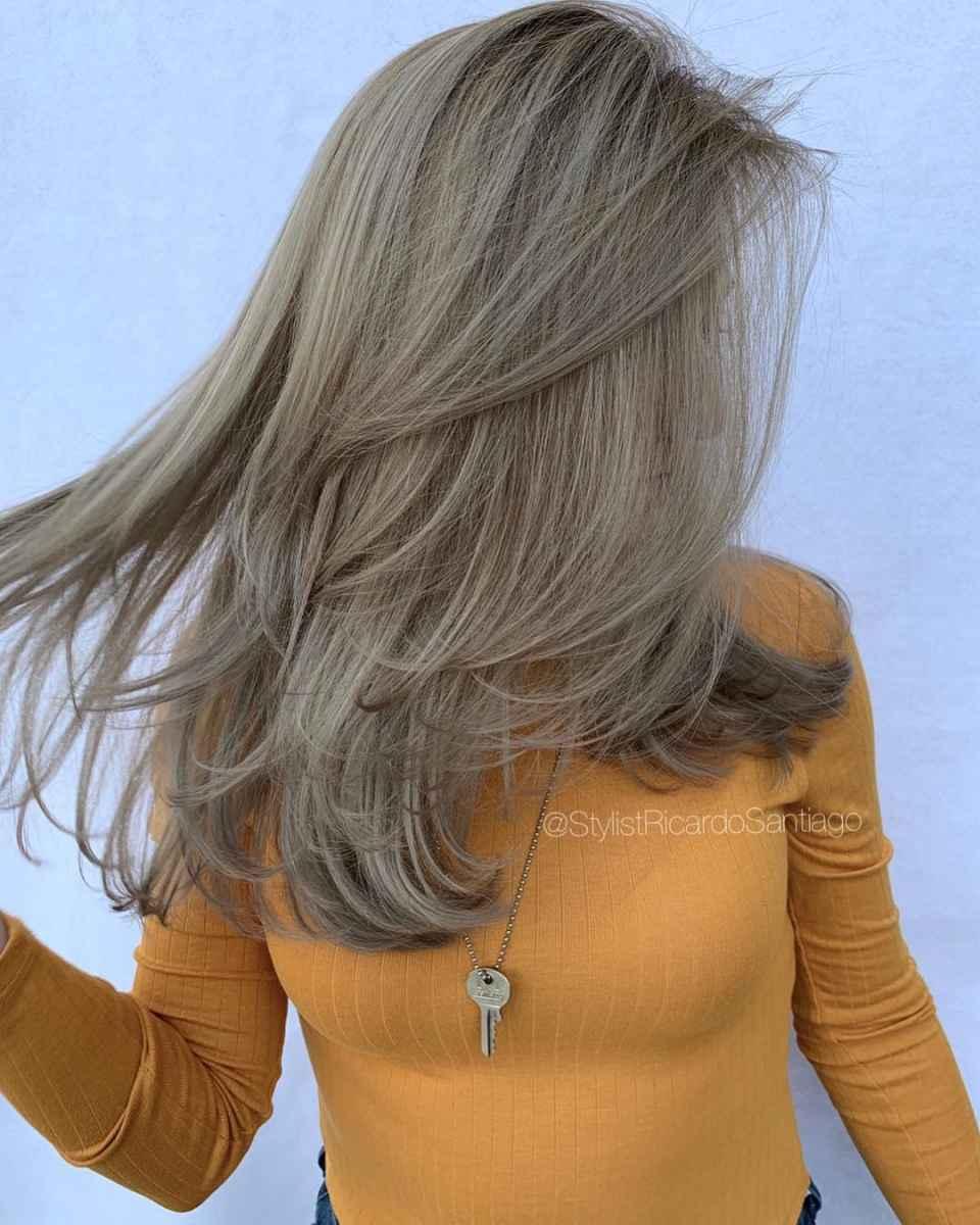 Модные цвета волос зимы 2020 фото_25