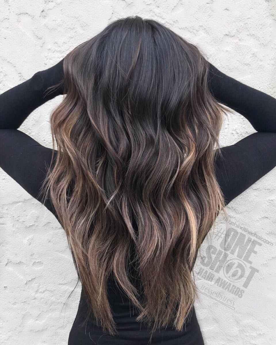 Модные цвета волос зимы 2020 фото_12