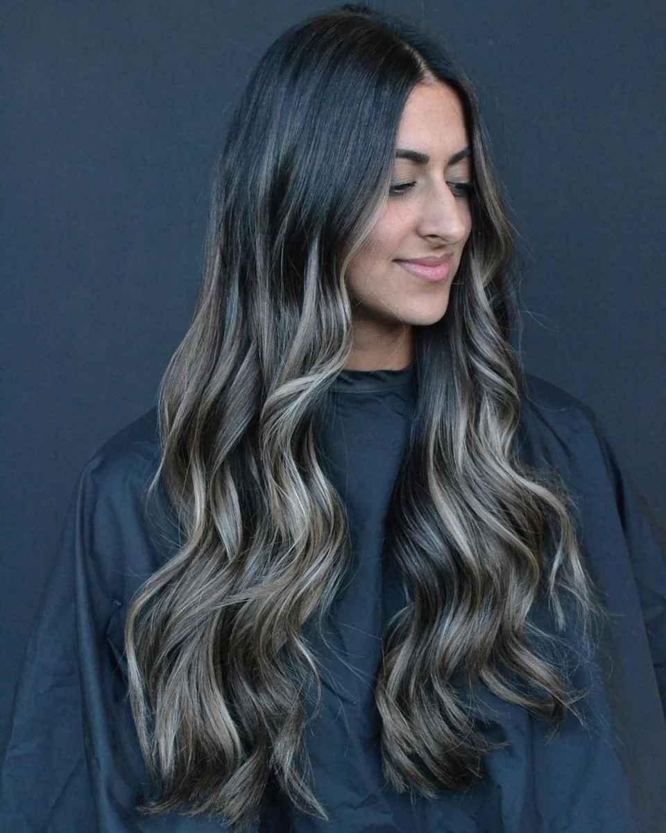 Модные цвета волос зимы 2020 фото_13