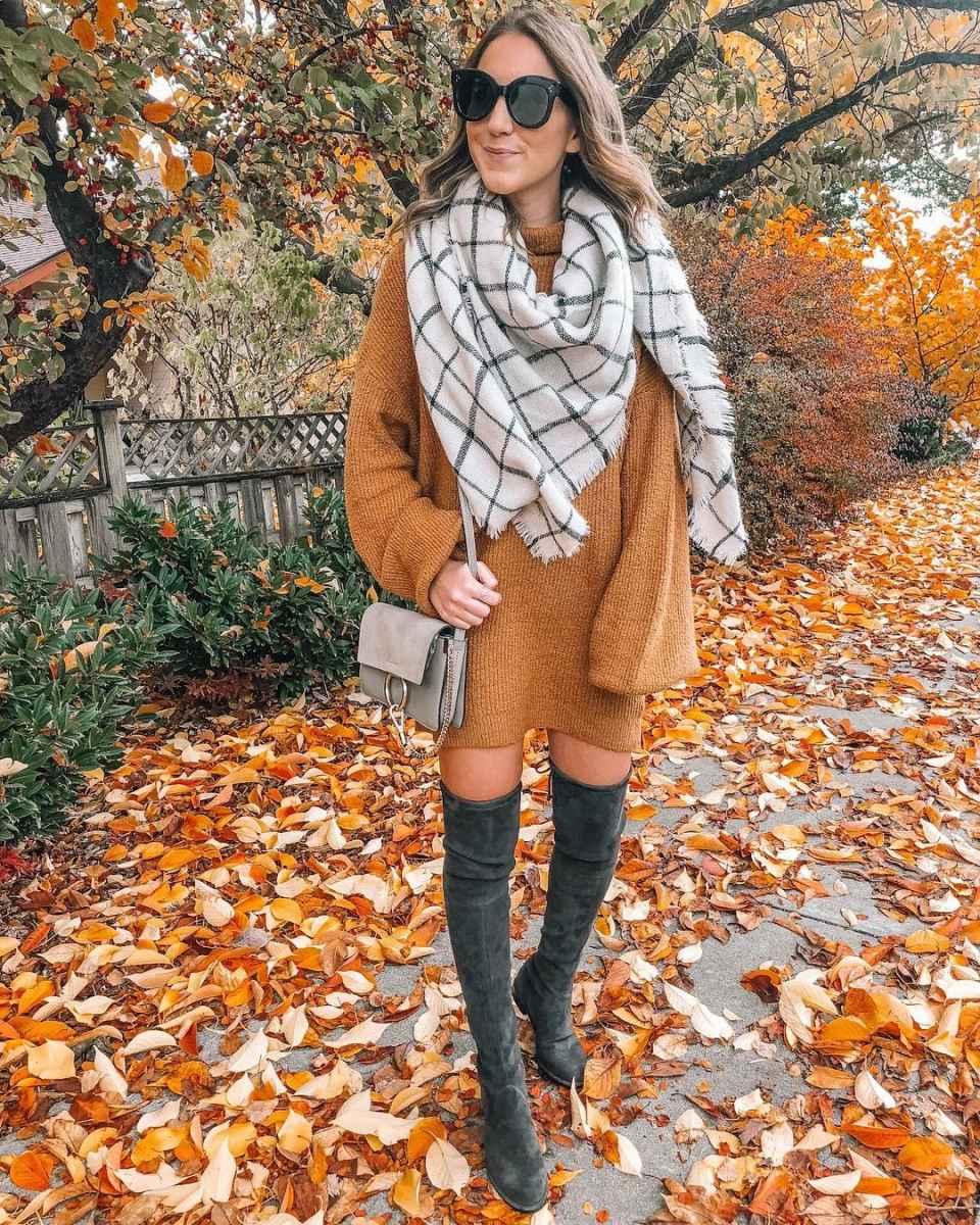 как носить шарф зимой фото_10