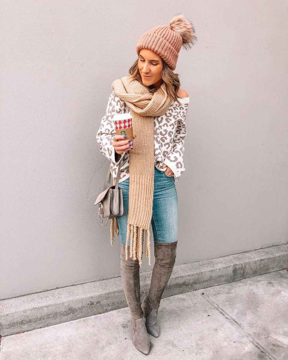 как носить шарф зимой фото_14