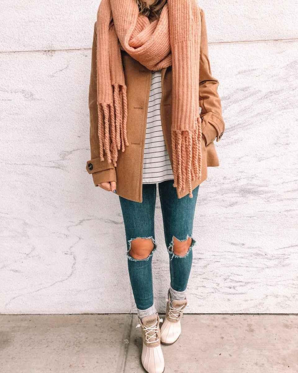 как носить шарф зимой фото_16