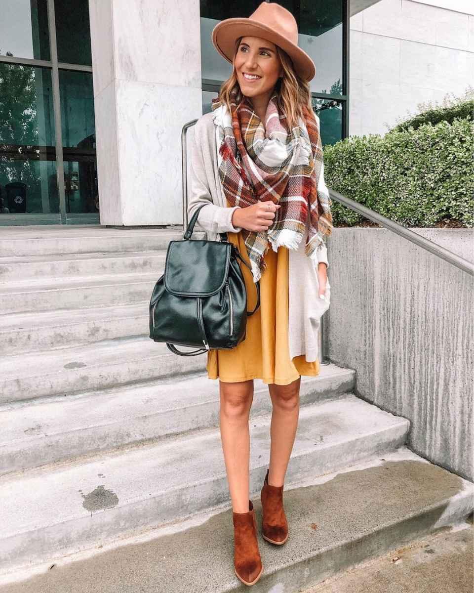 как носить шарф зимой фото_19
