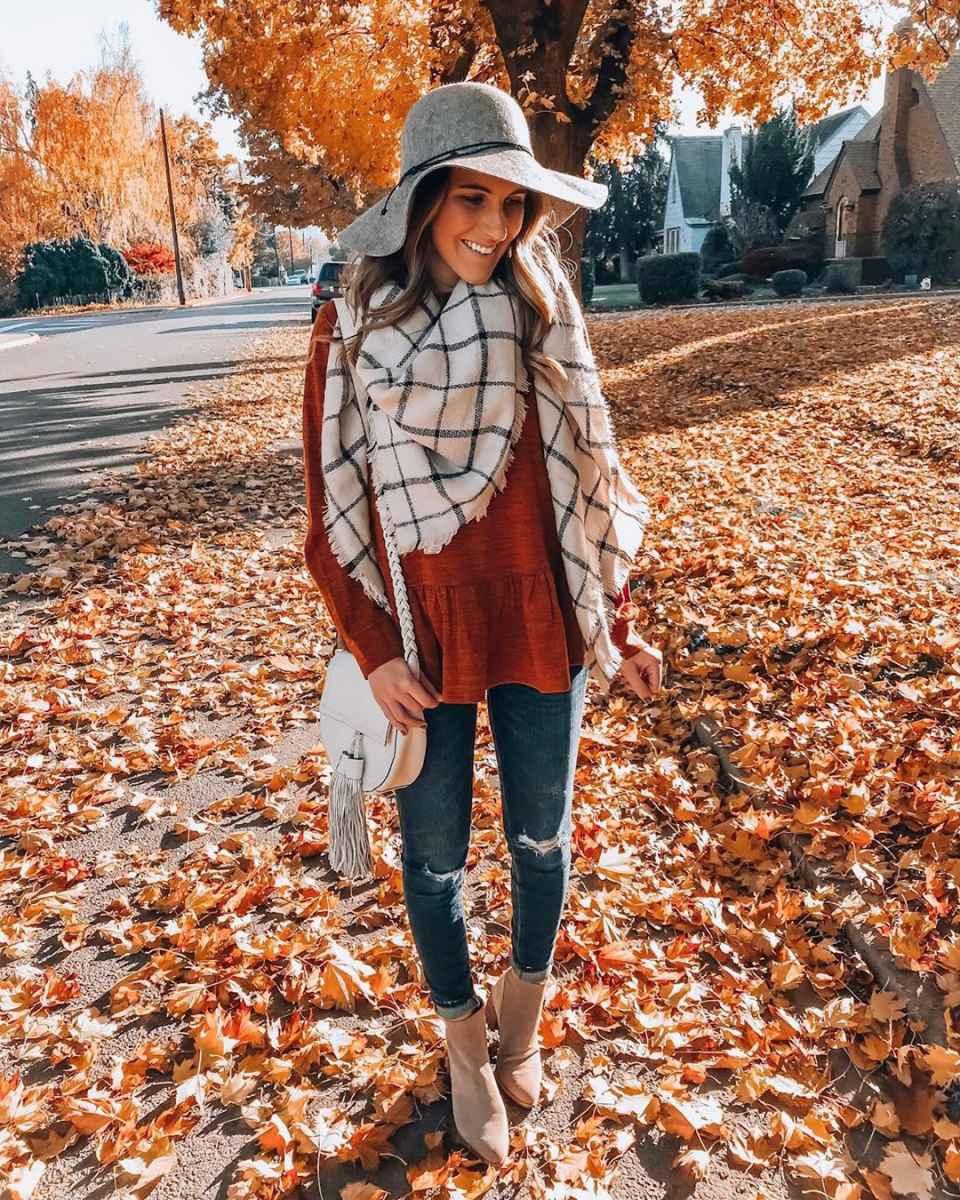 как носить шарф зимой фото_21