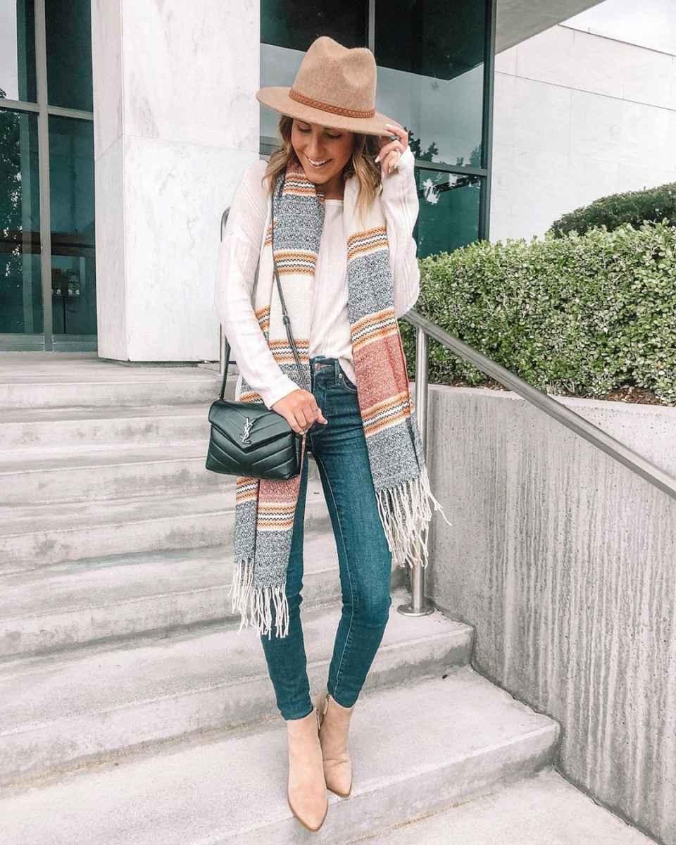 как носить шарф зимой фото_22