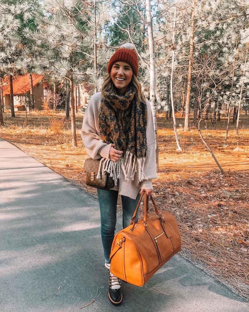 как носить шарф зимой фото_25