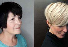 6 шикарных коротких стрижек для модных женщин после 50 лет