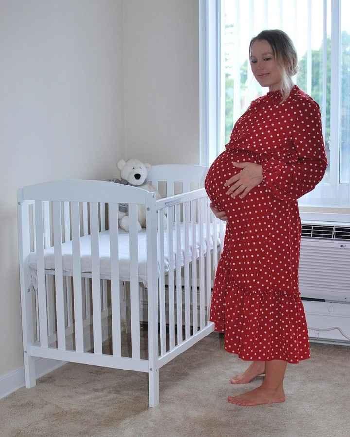 Платья для беременных на Новый год 2020 фото_33