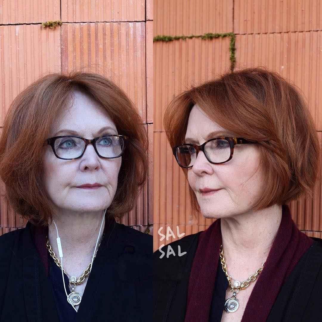 Стрижки для женщин 50 лет с квадратным лицом фото_15