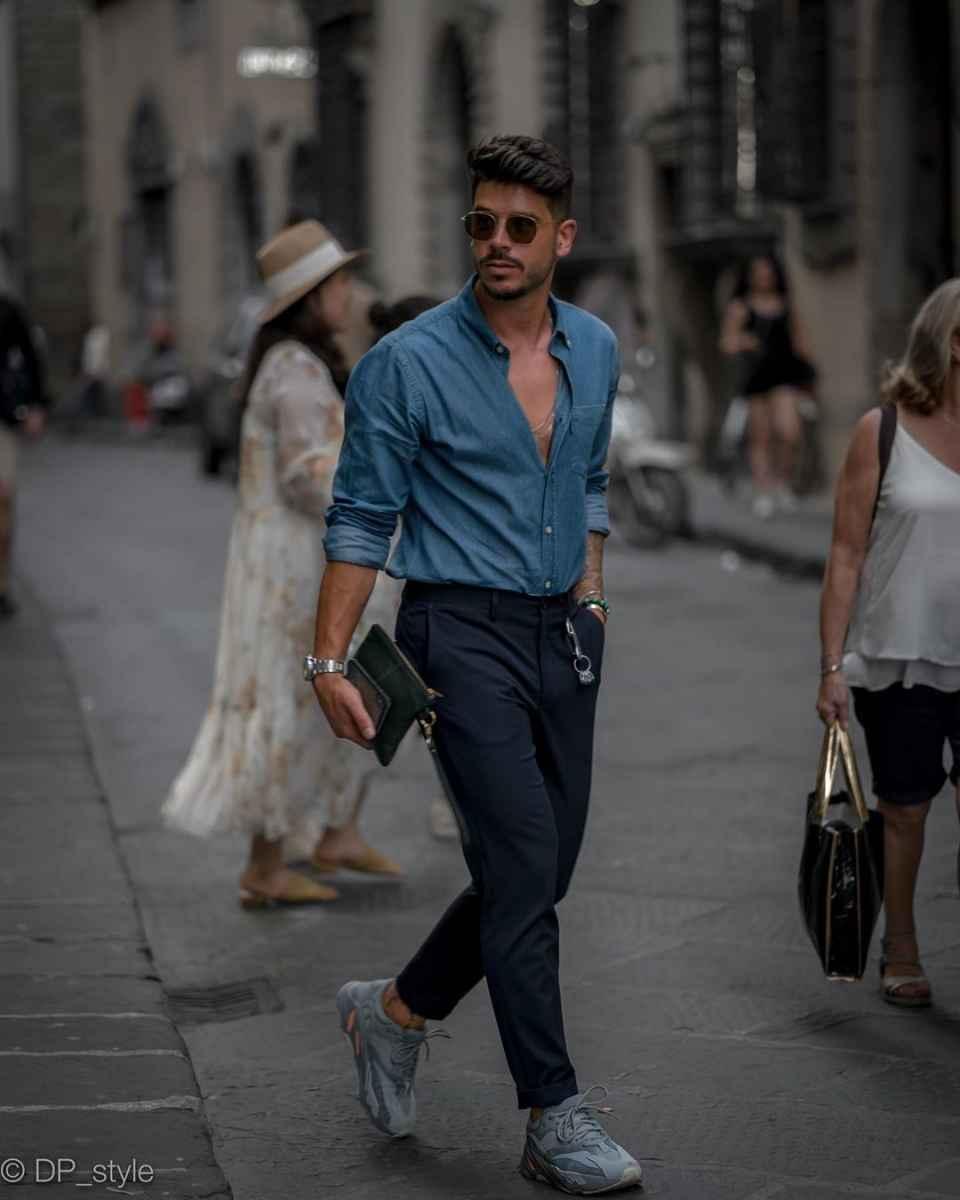 Модные мужские луки весна-лето 2020 фото_21