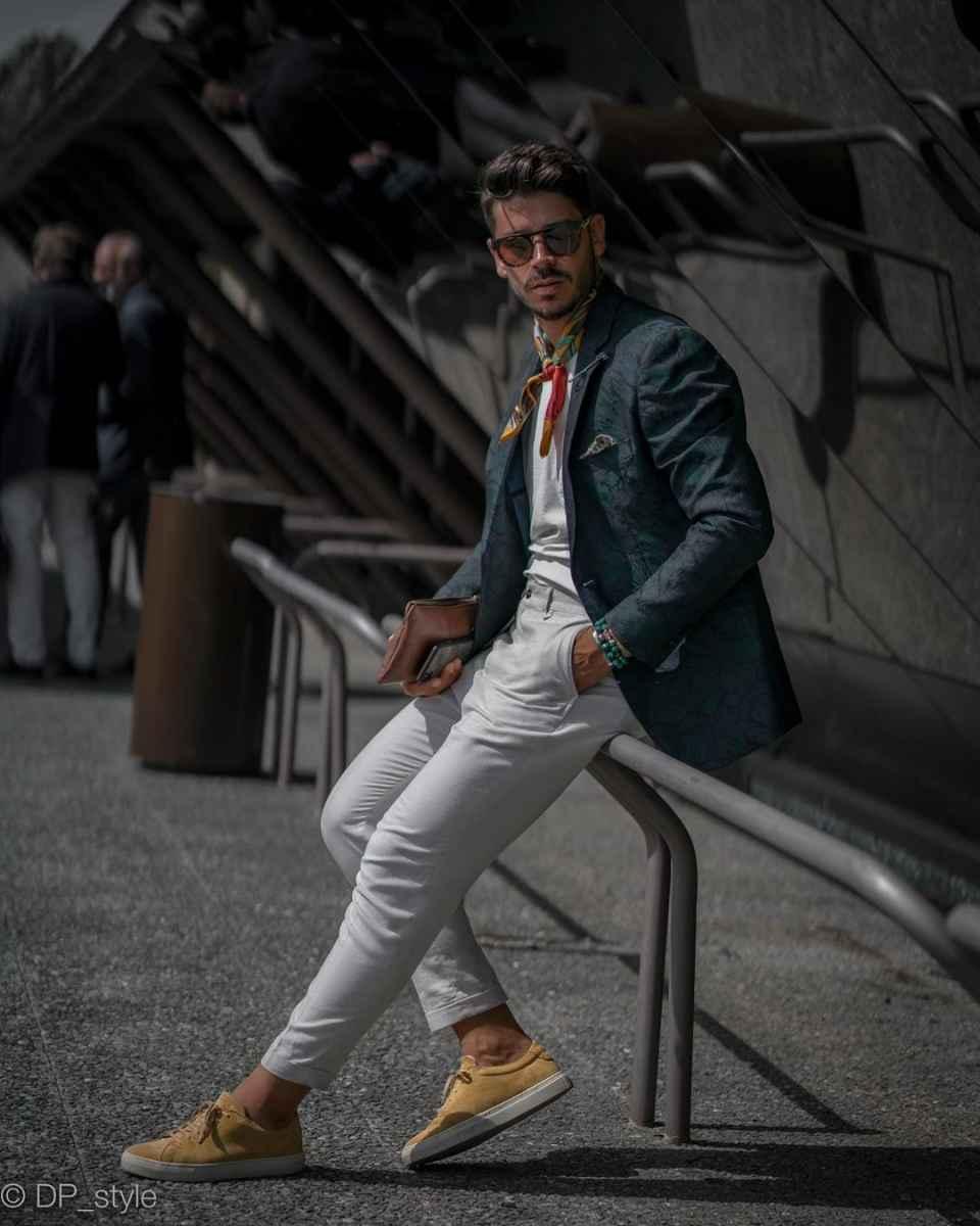 Модные мужские луки весна-лето 2020 фото_3