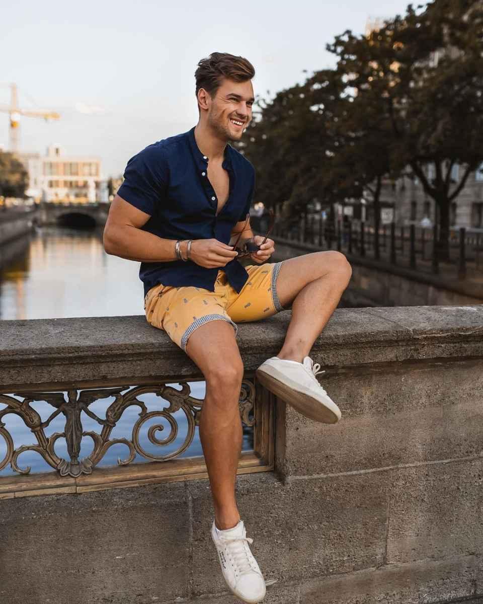 Модные мужские луки весна-лето 2020 фото_65