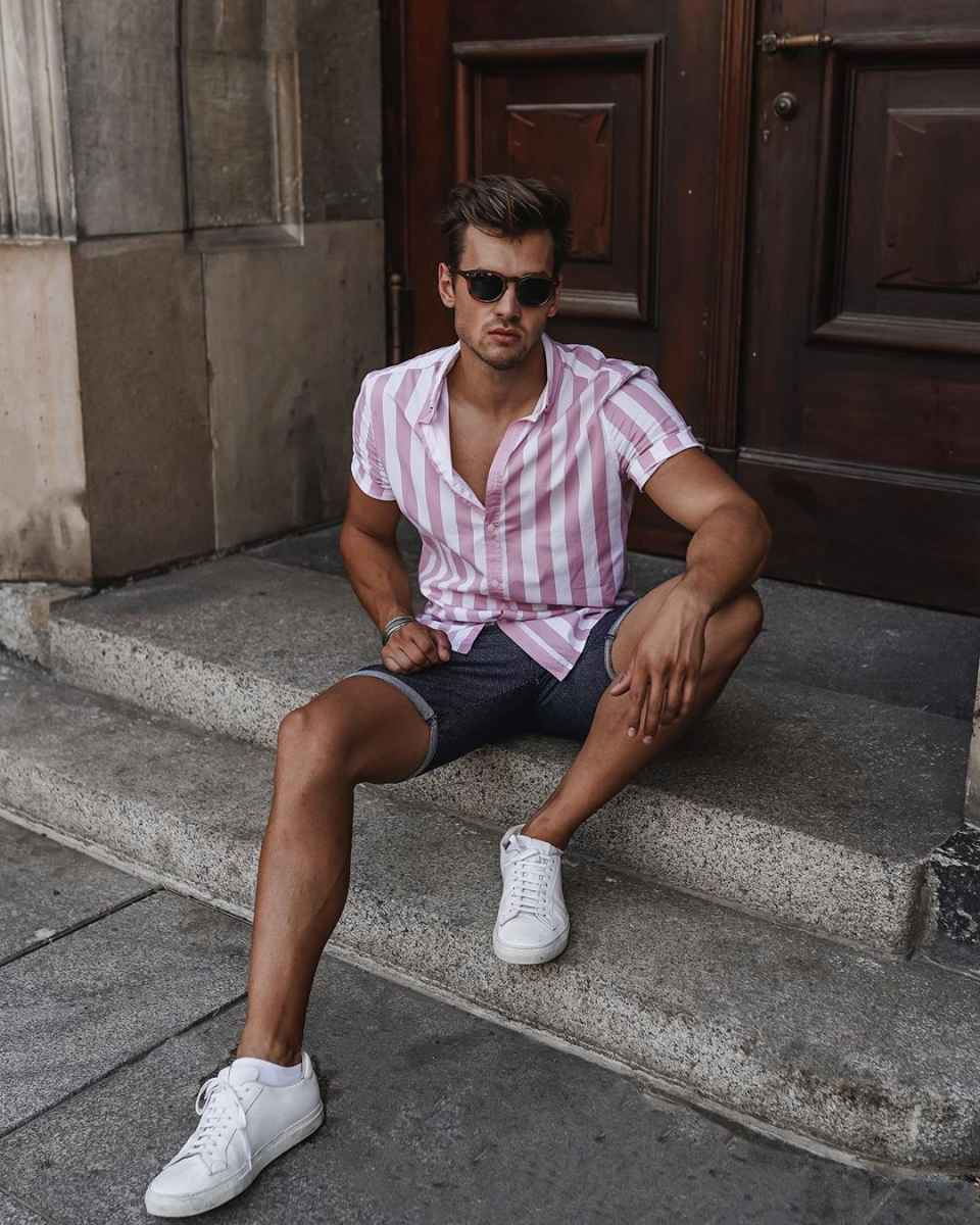Модные мужские луки весна-лето 2020 фото_64