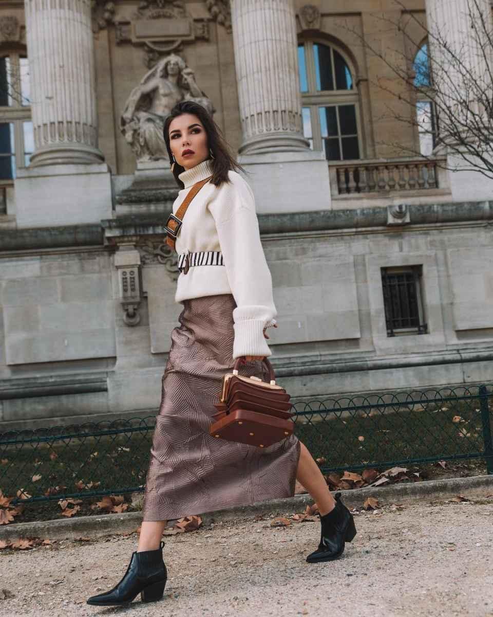 Как одеться на 8 марта женщине на работу фото_46
