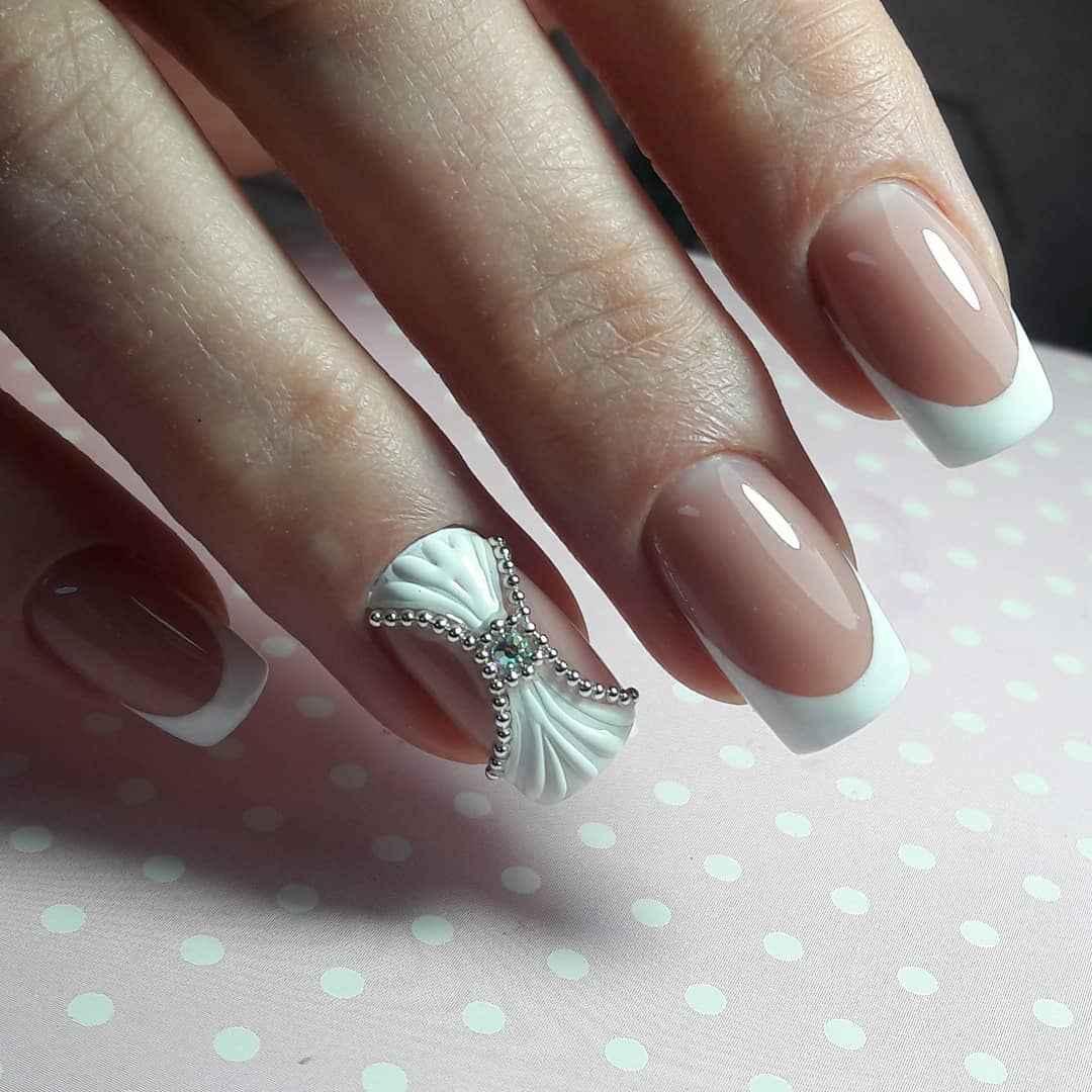 Лепка на ногтях 2020 фото_16