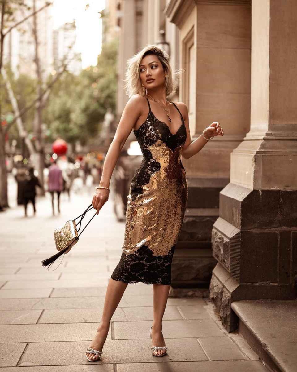 Модные женские образы на день святого Валентина 2020 фото_45