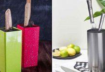 Подставка для ножей на кухню