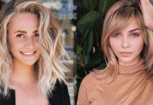 объемные стрижки на средние волосы 2020 фото идеи