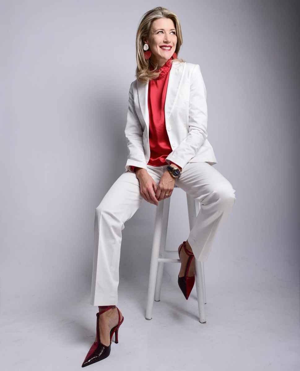 Как одеться на корпоратив женщине 40-50 лет фото_1