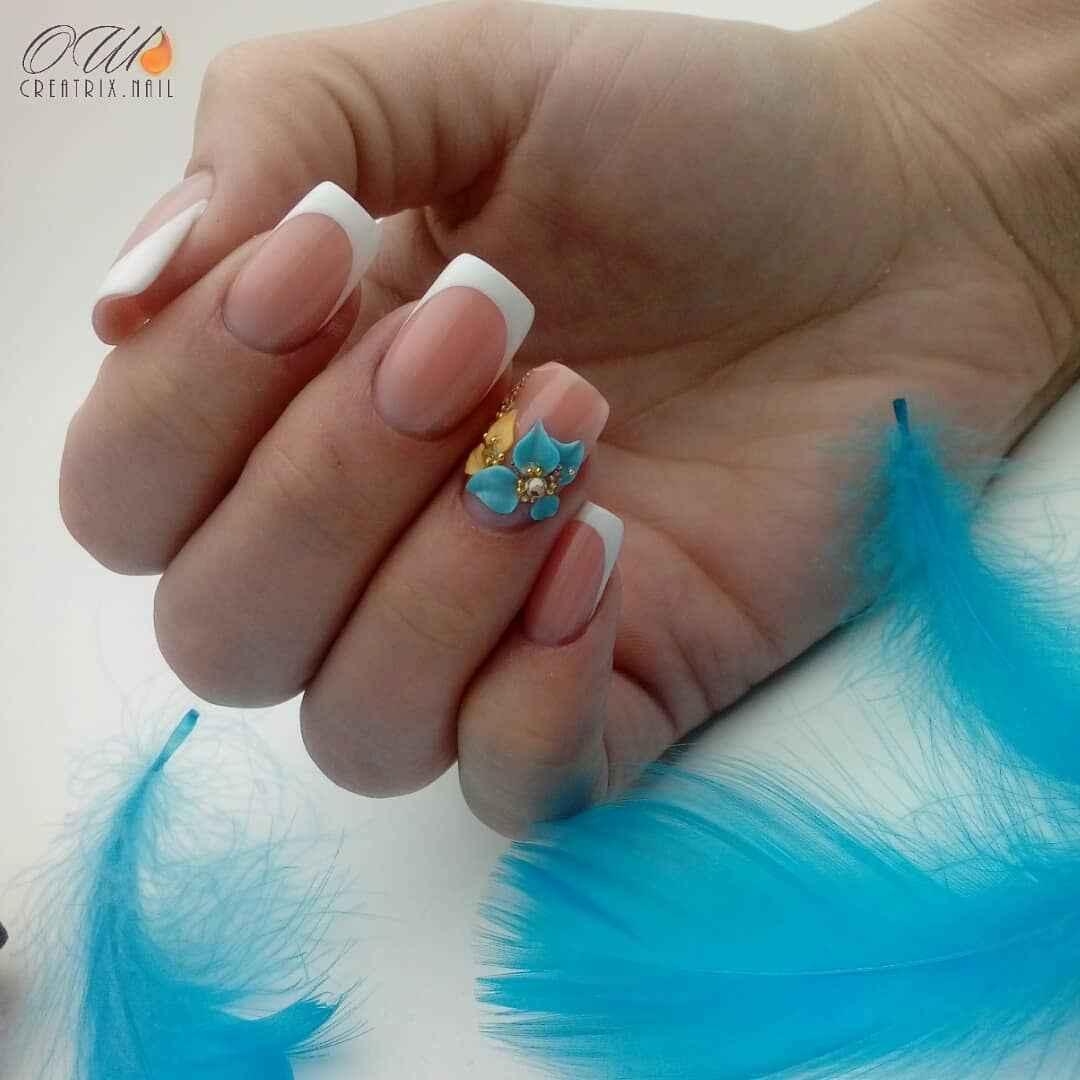 Лепка на ногтях 2020 фото_11