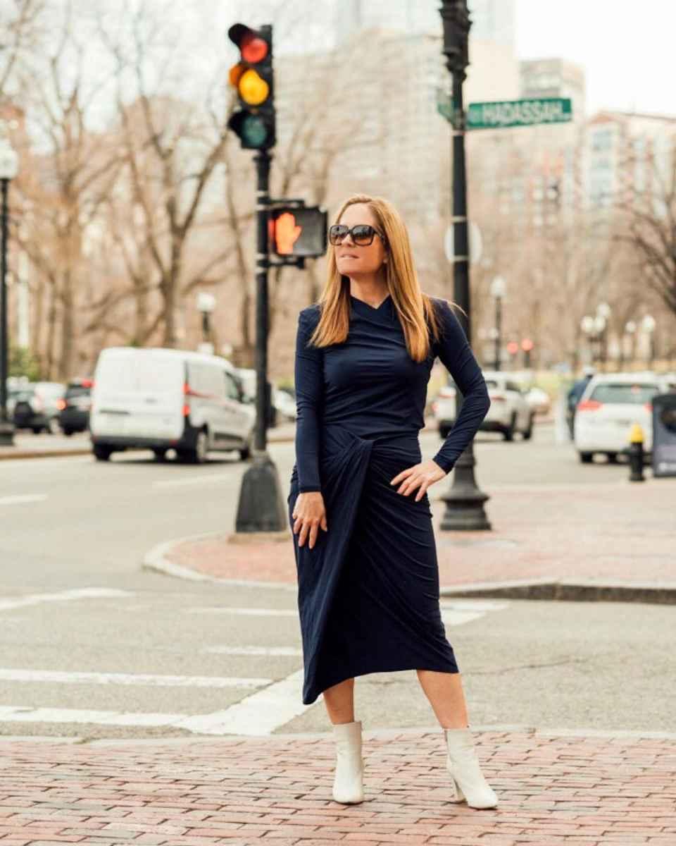 Как одеться на корпоратив женщине 40-50 лет фото_45