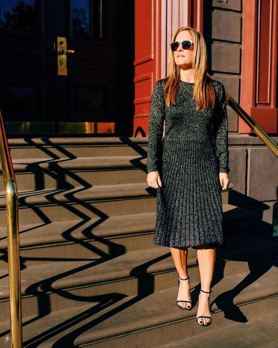 Как одеться на корпоратив женщине 40-50 лет фото_41