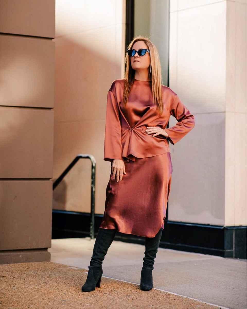 Как одеться на корпоратив женщине 40-50 лет фото_36