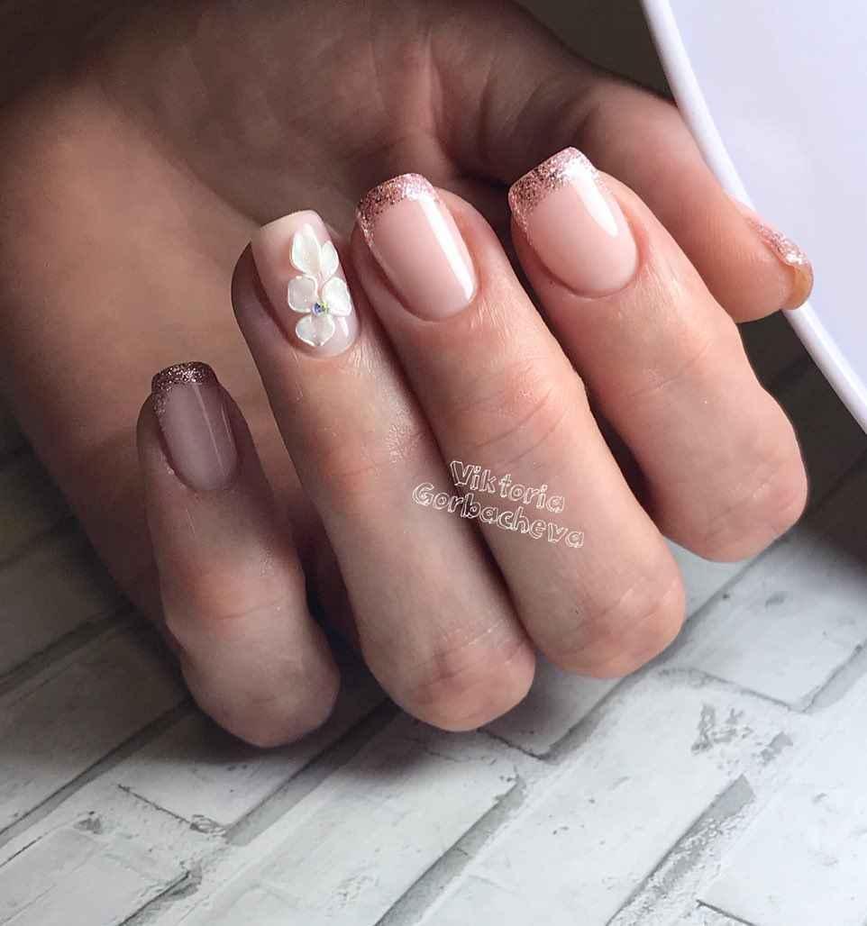 Лепка на ногтях 2020 фото_58