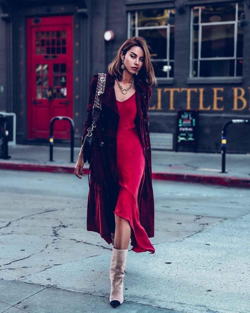 Модные женские образы на день святого Валентина 2020 фото_18