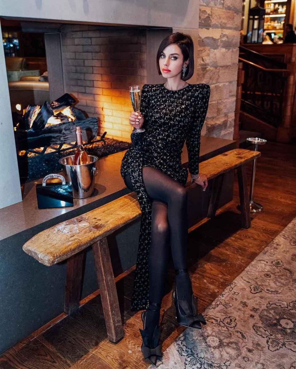 Модные женские образы на день святого Валентина 2020 фото_27