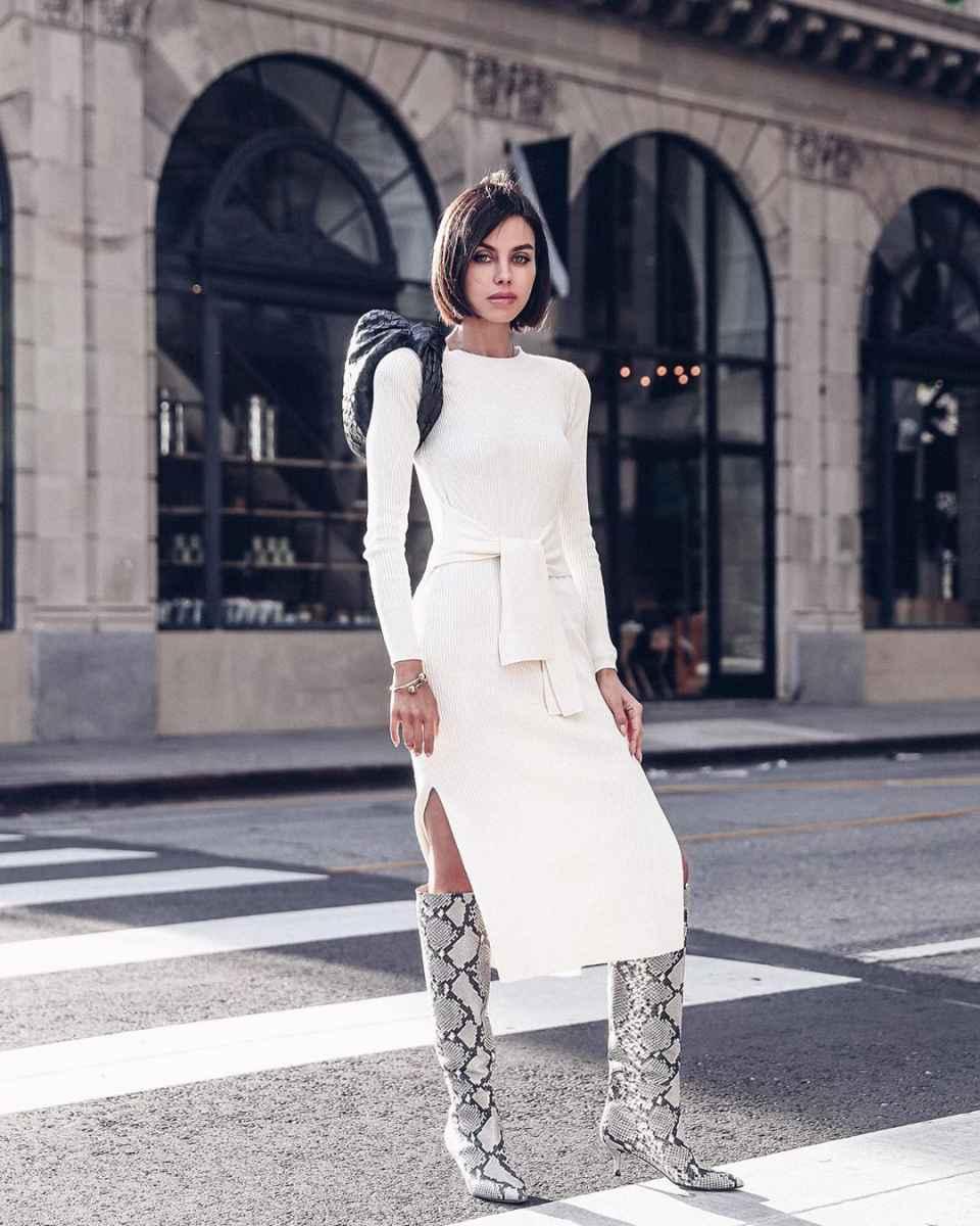 Модные женские образы на день святого Валентина 2020 фото_29