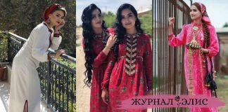 Современные фасоны туркменских платьев фото идеи