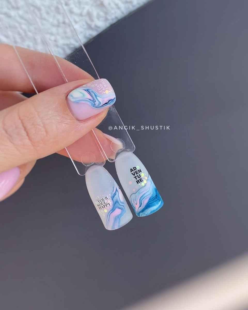 Фантазийные текстуры на ногтях фото_19