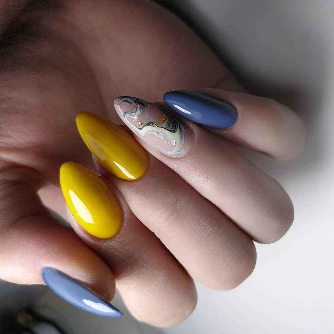 Фантазийные текстуры на ногтях фото_45