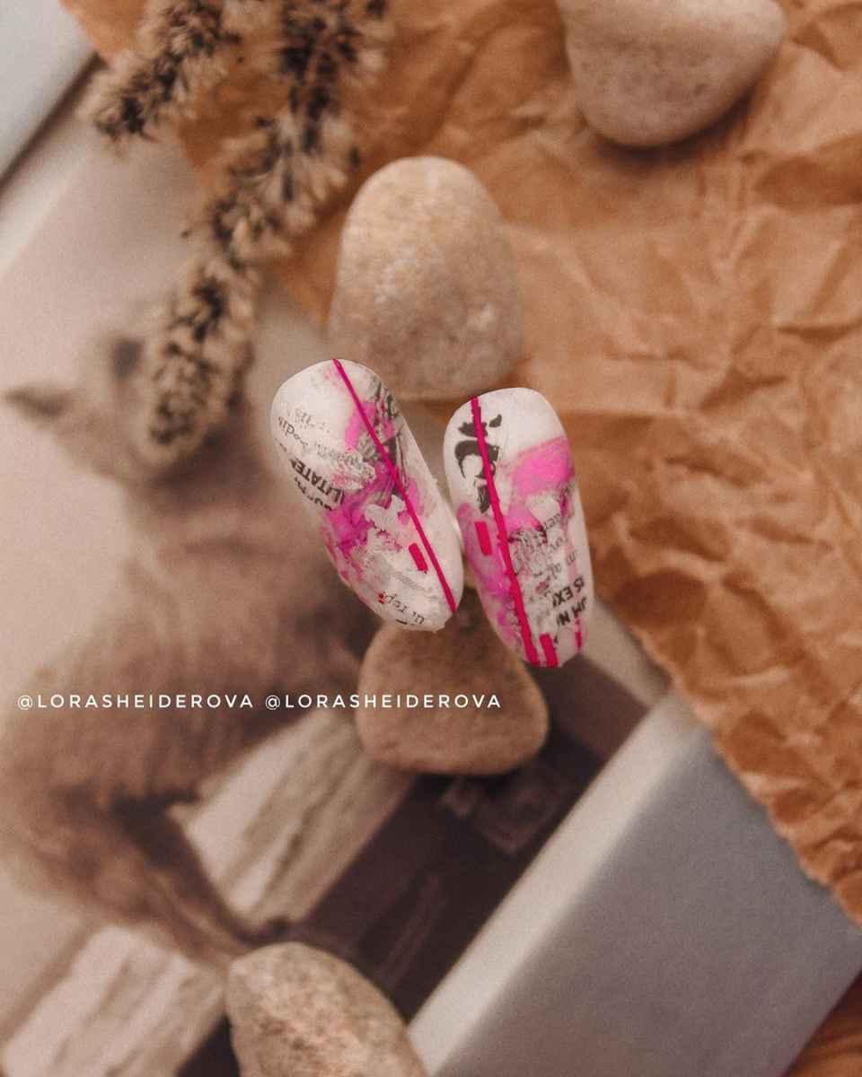 Фантазийные текстуры на ногтях фото_50