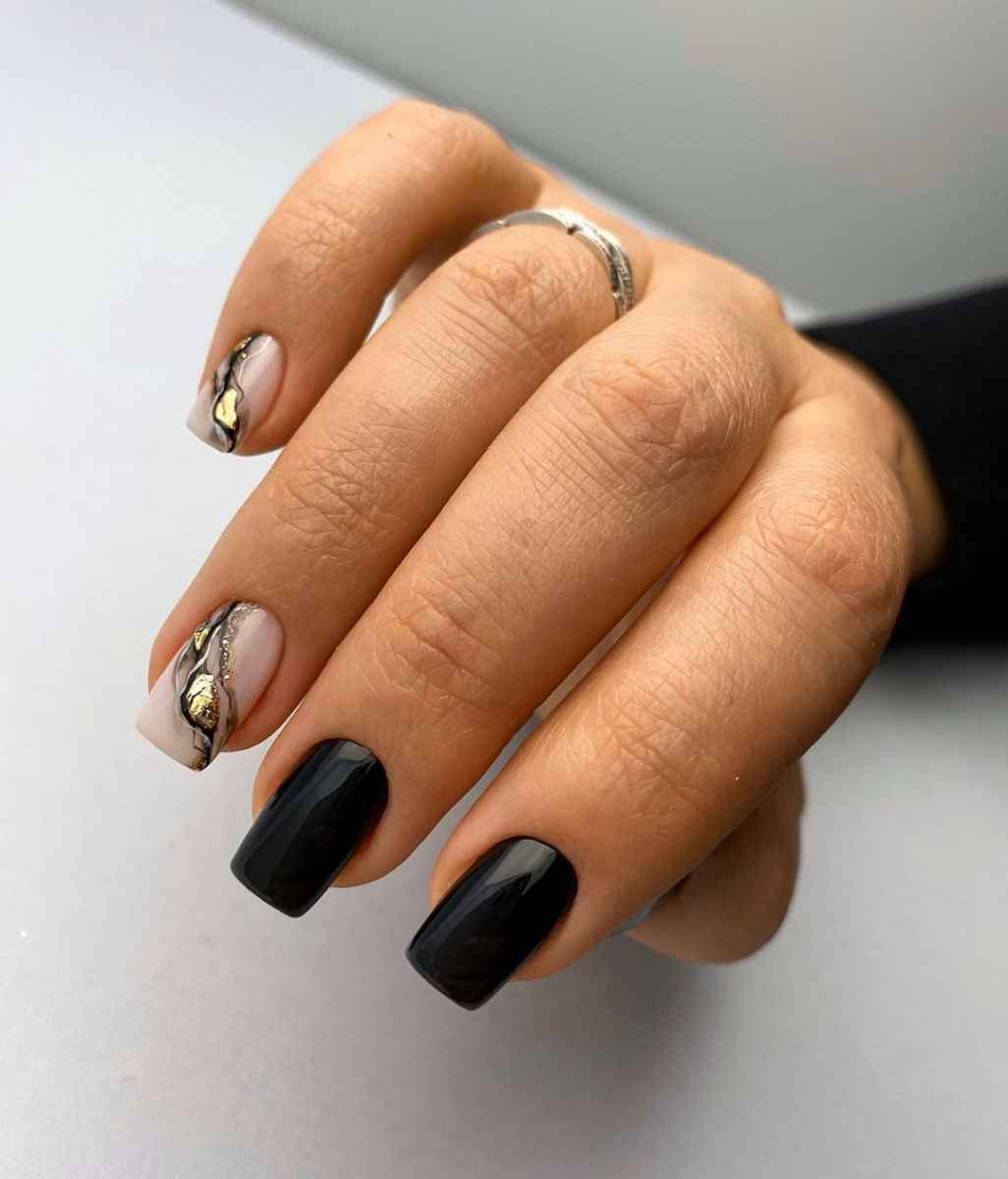 Фантазийные текстуры на ногтях фото_52