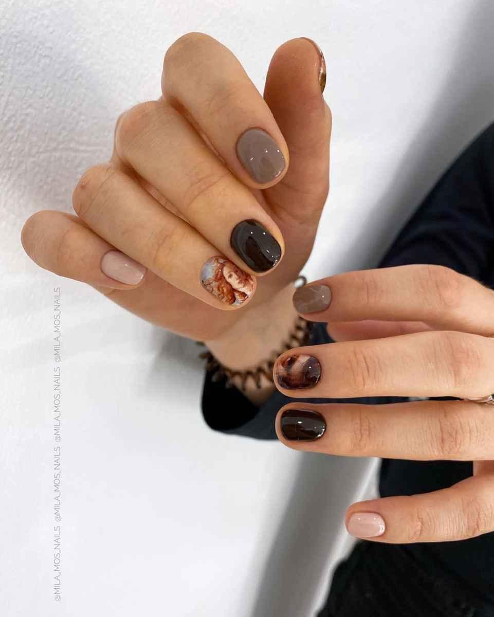 Фантазийные текстуры на ногтях фото_8