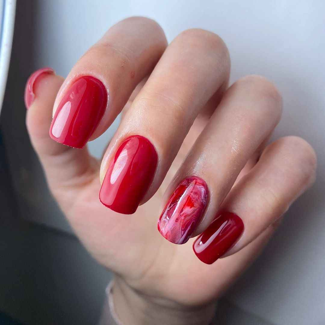 Фантазийные текстуры на ногтях фото_44
